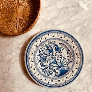 Gorgeous Hand Painted Portuguese Decorative Plate